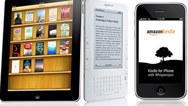 Kindle and iPad