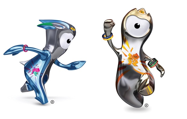 London Olympics mascots