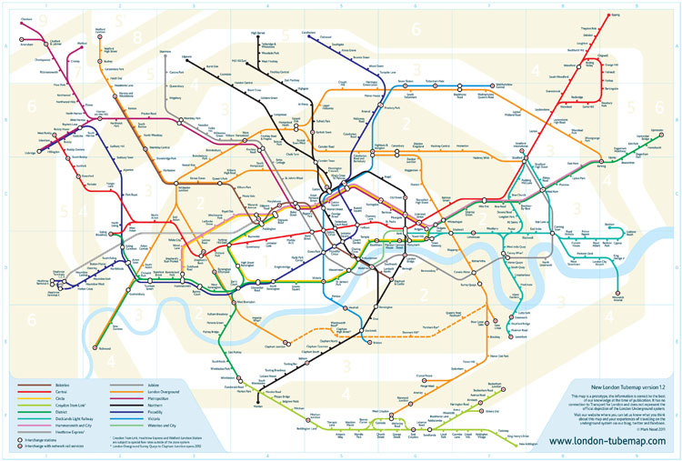 Map Around London.London Tube Map Sparks Furor Over What Design Means