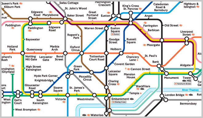 tube map old