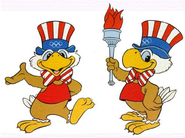 Los Angeles Olympics mascot