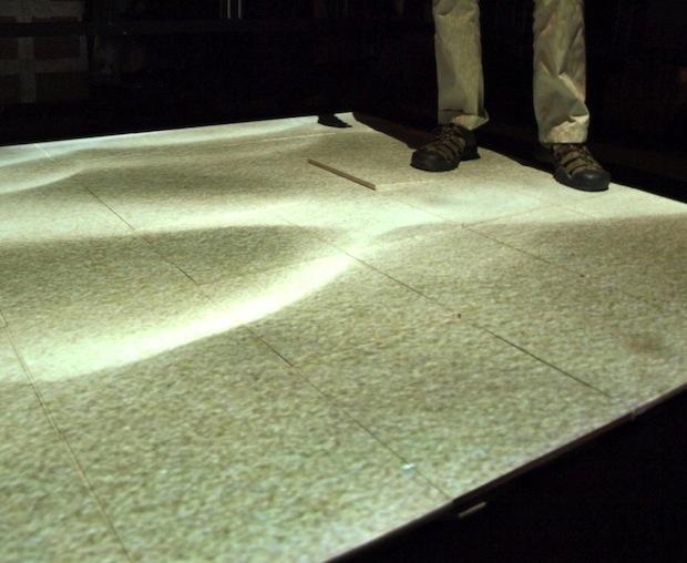 AR floor
