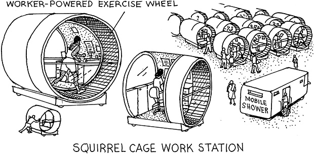 Squirrel Cage Cubicle