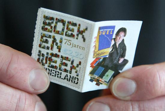 Richard Hutten Stamp Book