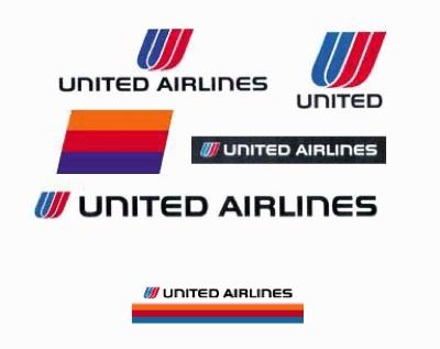 United old logos