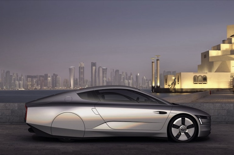 how volkswagen s xl1 concept gets 261 miles to the gallon. Black Bedroom Furniture Sets. Home Design Ideas